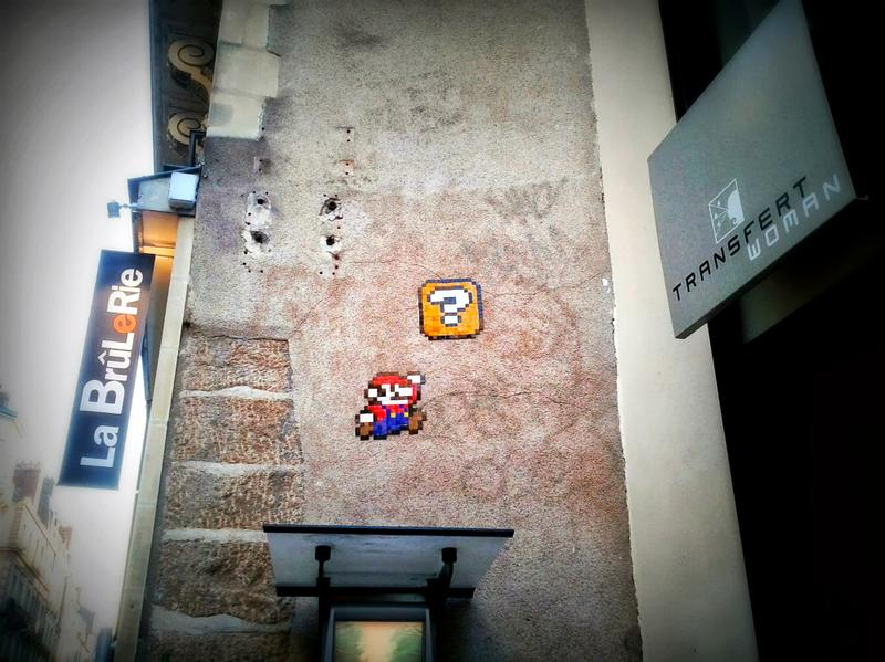 Mario Bros in Nantes