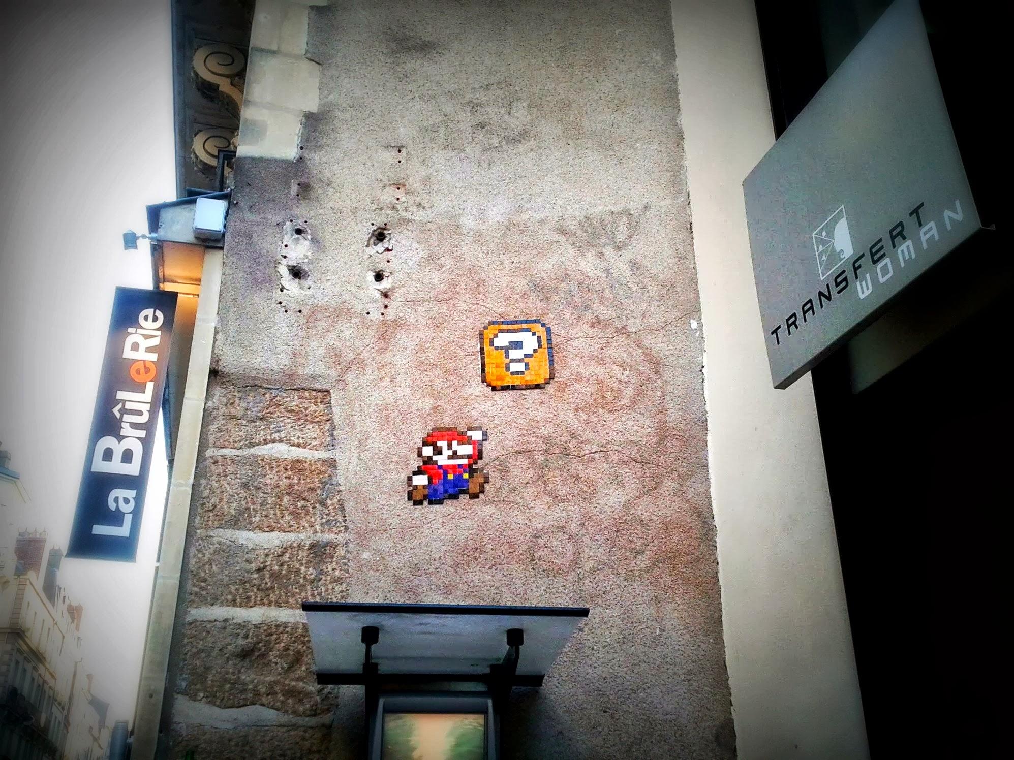 Mario Bros in Nantes