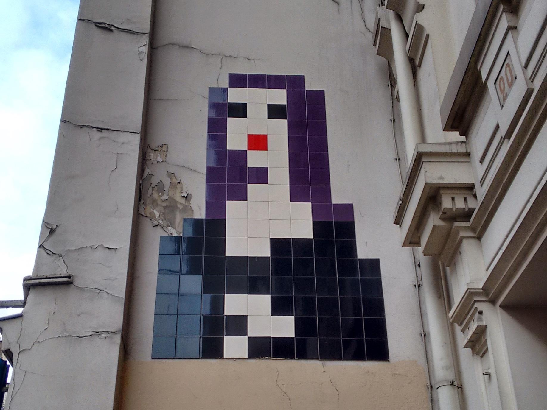 The 8-bit Mona Lisa